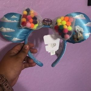 "Authentic ""Up"" Minnie Ears from Disneyland"